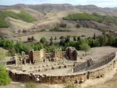 Djemila's gorgeous amphitheater
