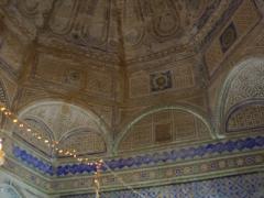 Interior domed view of Guemar's zaioua