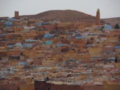 View of Beni Isguen at dusk