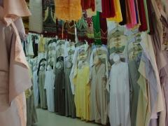 Clothing store; Ghardaia market