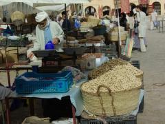 Peanuts for sale; Ghardaia market place