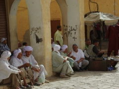 Chatting the day away; Ghardaia market place