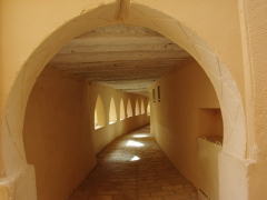 Interior view of Ghardaia's mosque