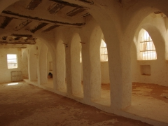 Interior view of Ghardaia's mosque (non muslims are allowed to visit)