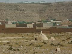 Ornate tomb; Ghardaia cemetery