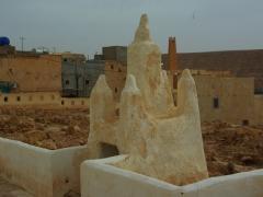 Elaborate tomb stone; El Atteuf village