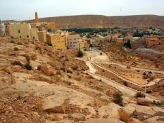 View overlooking the valley towards El Atteuf