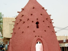 One of the symbols of Timimoun; a water irrigation tower