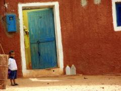 Village boy living in the foothills of Tindjillet