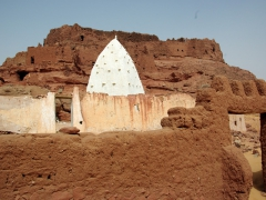 The Side Abd Al Rahman marabout; Ksar Ighzer