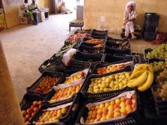 Fruits for sale; Timimoun market