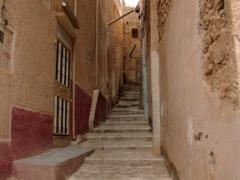 Alleyway in Melika (where nice views of neighboring Ghardaia can be had)