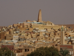 Ghardaia is the largest of the five cities of the M'zab Valley, serving as the administrative and commercial hub