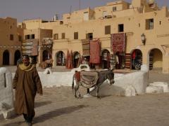 Ghardaia main marketplace