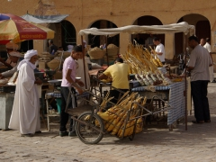 Bundles of delicious dates for sale; Ghardaia market