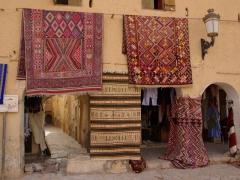 Fancy a traditional Algerian carpet? Ghardaia is the place to souvenir shop