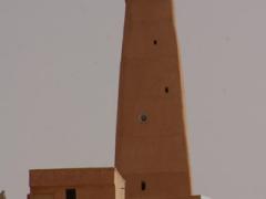 Minaret of old Ghardaia