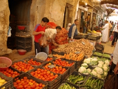 M'zab Valley is one of the last places to stock up on fruits and vegetables before heading into the Sahara