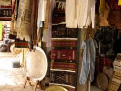 Souvenir shop in the main square of Ghardaia