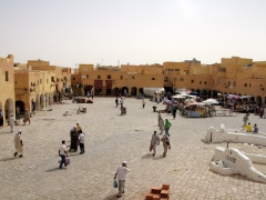 Our favorite area of Ghardaia, the main market square