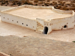 View of the 700 year old mosque of Sheikh Sidi Brahim; El Atteuf