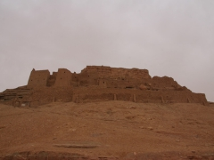 Ruins of El Golea's old Ksar (El Menia), which was built in the 10th century by the Berbers