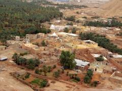 View of El Golea from its ksar