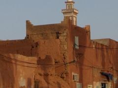 Minaret in Timimoun