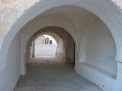 Sturdy entranceway to the zaioua mosque; Guemar