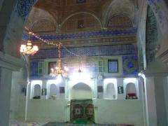 The beautiful interior of Guemar's original mosque