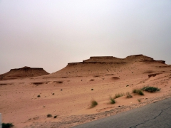 Scenery on our drive from El Oued towards M'zab Valley