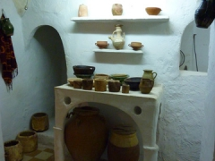 Interior room of a typical dwelling in Beni Isguen