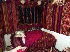 Example of a marriage bedroom; Beni Isguen's museum