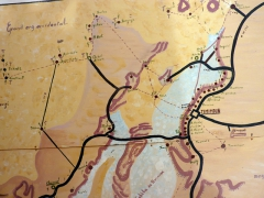 Map detailing the Sebkha Circuit; Camping Roses de Sable
