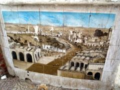 Wall mural; El Oued