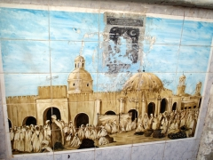 Another wall mural in El Oued
