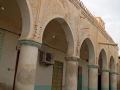 Interior courtyard; Guemar's zaioua complex