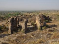 View of the Domes de Fabedougou