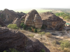 The Domes de Fabedougou are rock formations that can be seen on an easy day trip from the Karfiguela waterfalls