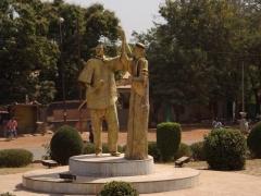Giant statue monument; Bobo-Dioulasso