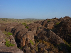 The Domes de Fabedougou are a oddly shaped cluster of rock formations that have been created by water erosion thousands of years ago. Climb the highest peak for a great view of the countryside