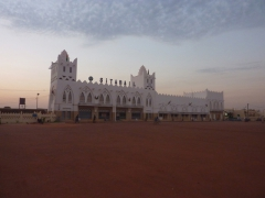 The Sudan style inspired architecture of Bobo-Dioulasso's train station