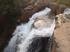 The cascades of Chutes de Karfiguela are especially refreshing on a hot, Burkina Faso day