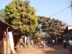 Entrance into the old village of Kibidoue