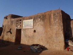 """The """"Kanssasso"""", the oldest house in Bobo-Dioulasso is said to date from the 15th century"""