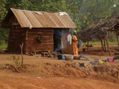 Boabeng Village scene