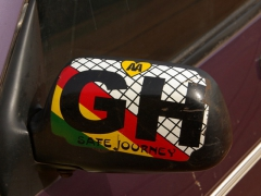 Safe Journey Ghana sticker