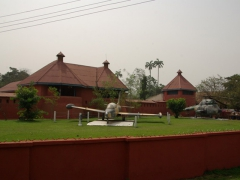 View of Kumasi Fort (also known as the Ghana Armed Forces Museum) on Stewart Avenue; Kumasi