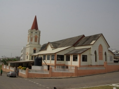 An old cathedral at Cape Coast