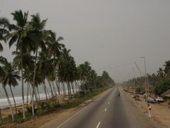 Road to Elmina Castle